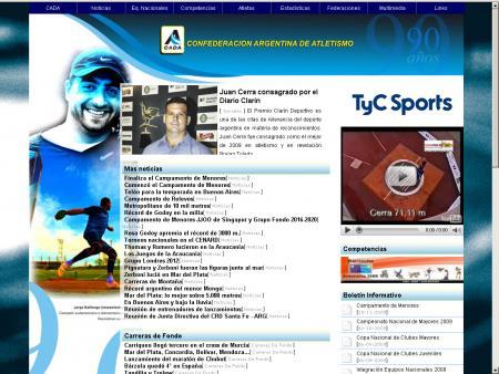 pagina Principal de CADA 2010
