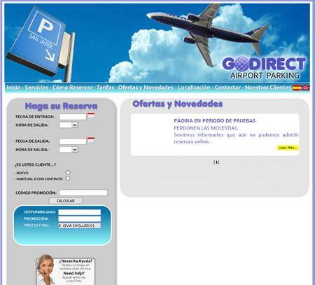 Ofertas y Novedades de godirectairportparking.com