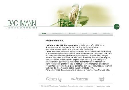 Home de fundacionbachmann.org.ar