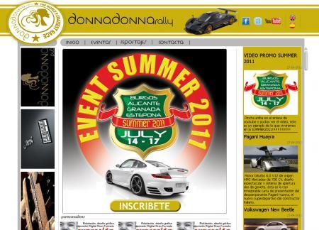 Pagina principal de donnadonna