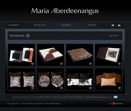 Listado de categorias de mariaaberdeenangus.com.ar