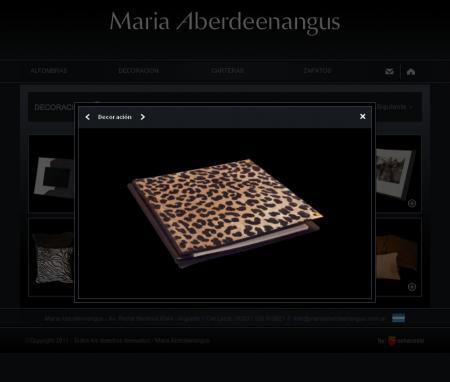 Ficha de productos de mariaaberdeenangus.com.ar