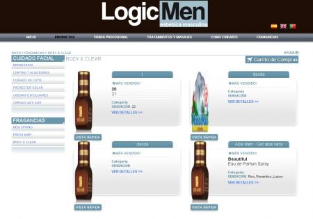 listado de productos de logicmen.com