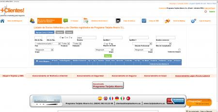 Administrador de socios de la empresa en panel+clientes!