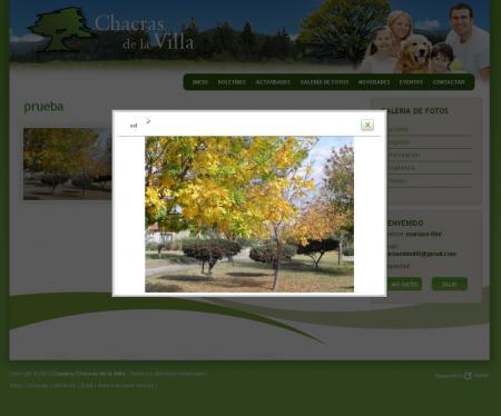 Galeria de imagenes en countrychacrasdelavilla.com