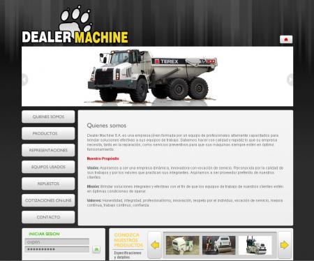 Home de dealermachine.com.ar