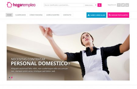 Home de hogarempleo.com.ar