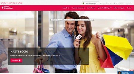 Nuevo Home de www.tarjetaahorro.es