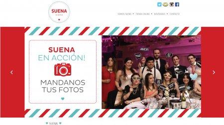 suenadg.com.ar - Maquetado -