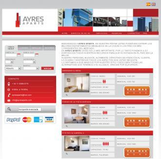 Pagina principal de ayresaparts.com