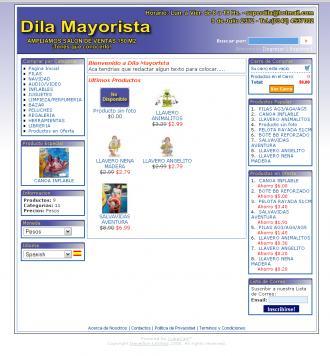 Pagina Principal de dilamayoristas