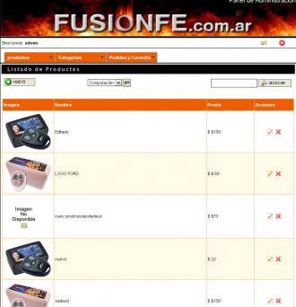 Administrador de FusionFe