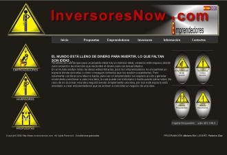 Pagina principal de Inversoresnow